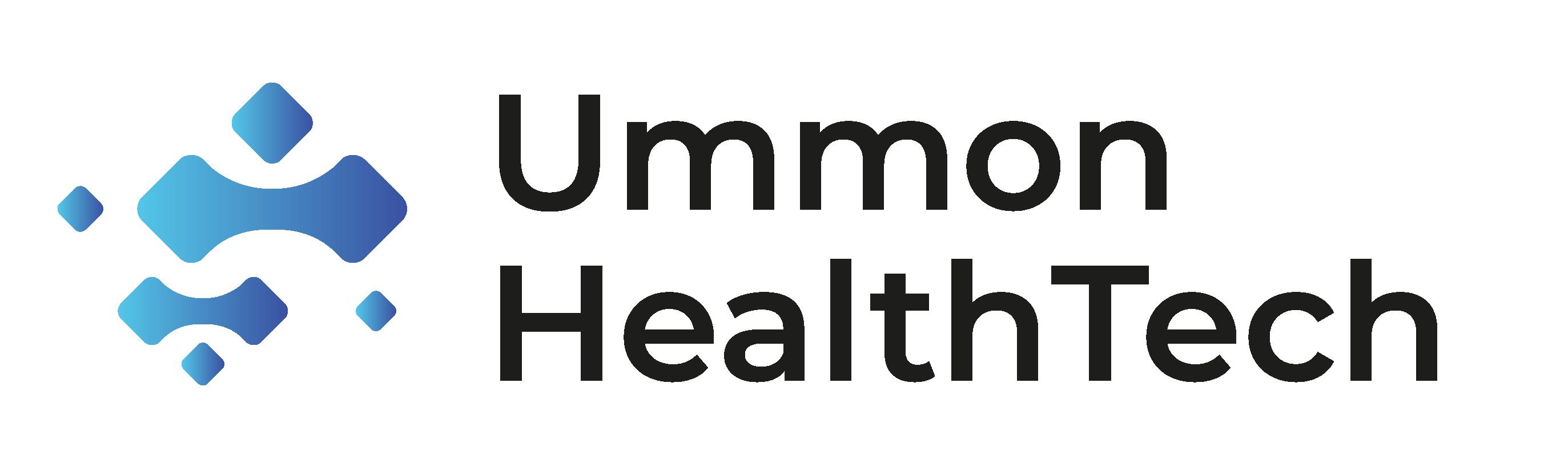 Logo Ummon Health Tech Noir